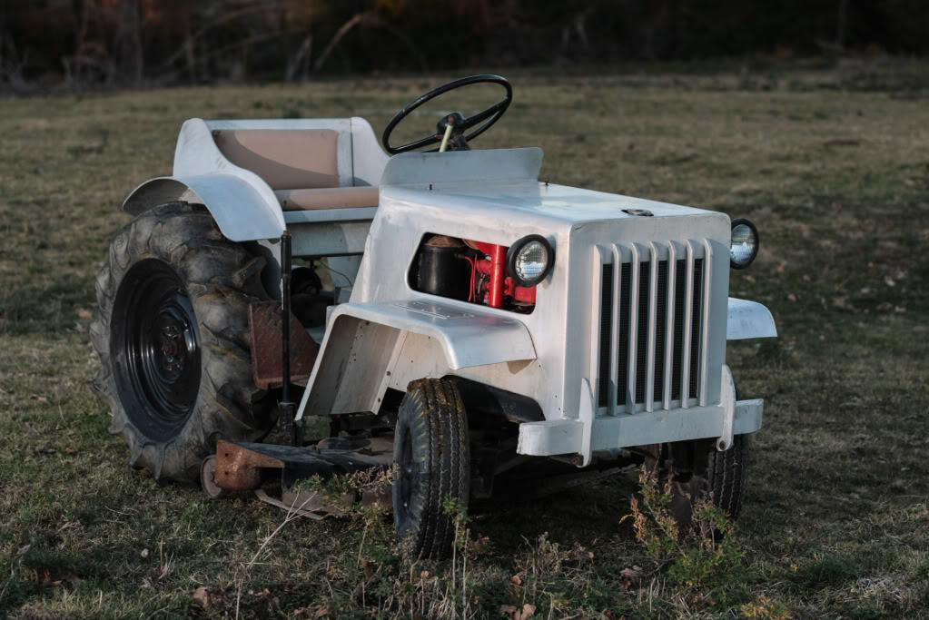 Homemade Garden Tractor Img_4404