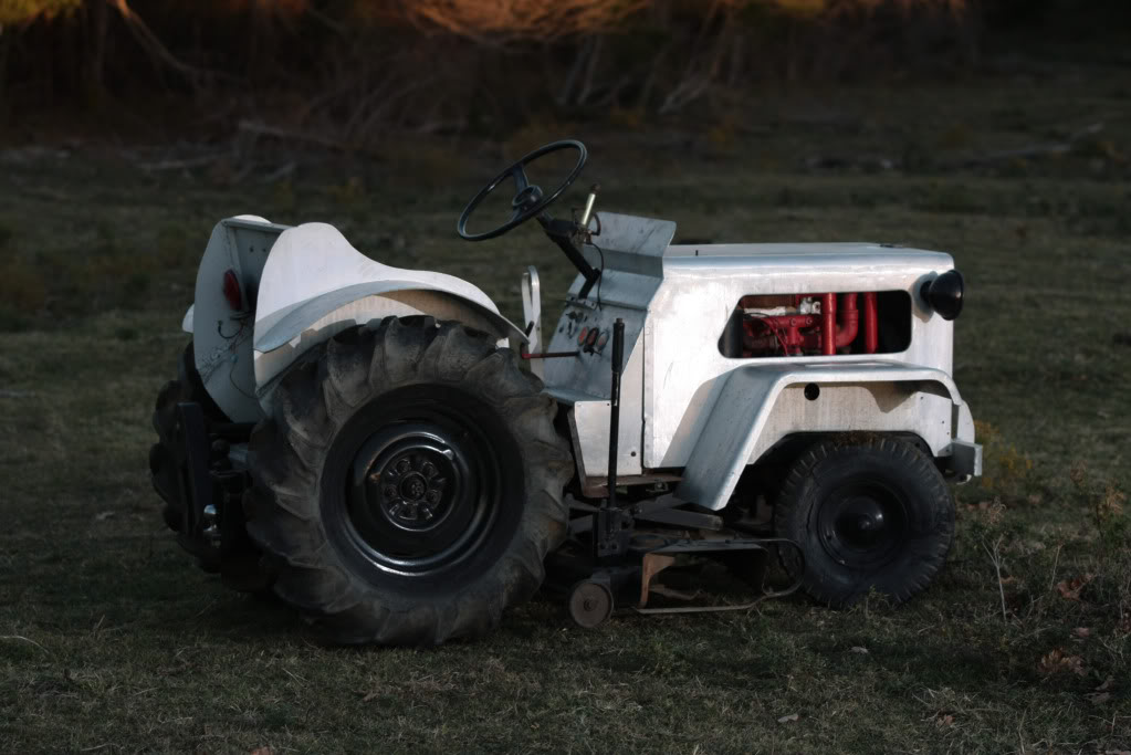 Homemade Garden Tractor Img_4407
