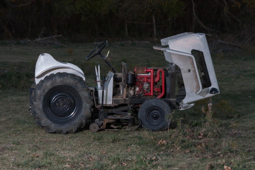 Homemade Garden Tractor Img_4415