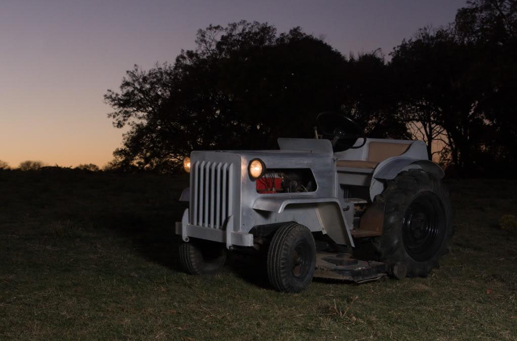 Homemade Garden Tractor Img_4478