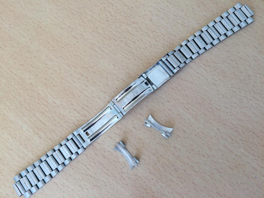 (Volé) Bracelet Acier Oméga 1125 et pièces de bout 617 (19mm) 1_zpsp1sr6hty