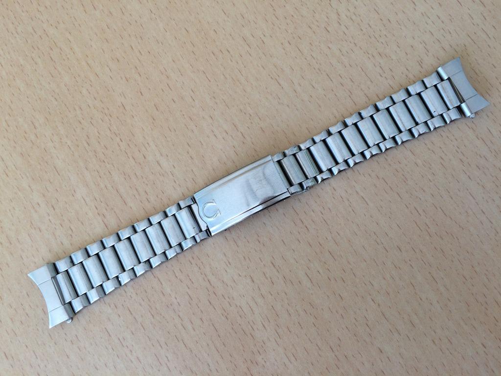 (Volé) Bracelet Acier Oméga 1125 et pièces de bout 617 (19mm) 3_zpsgvzvnkjd