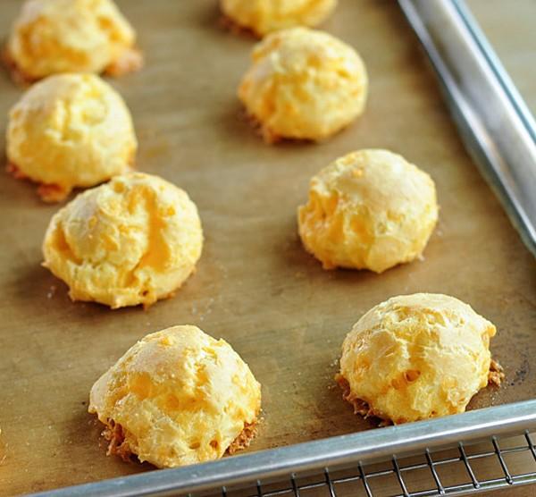 [Pháp - France][Recipe] Cheese Gougères - Bánh gougères phô mai Gougeres-9