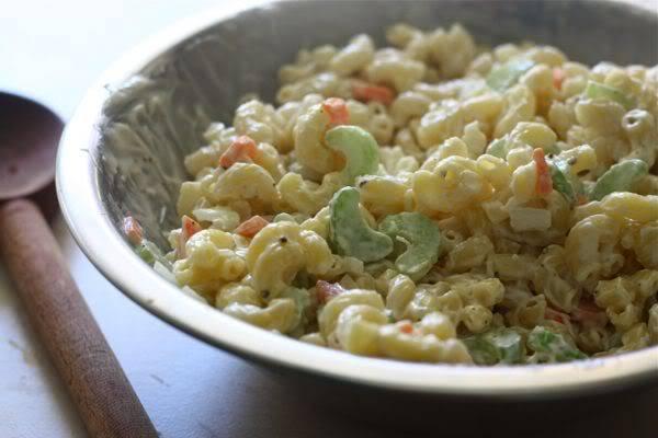 Salad Mì Ống Hawaiian 5