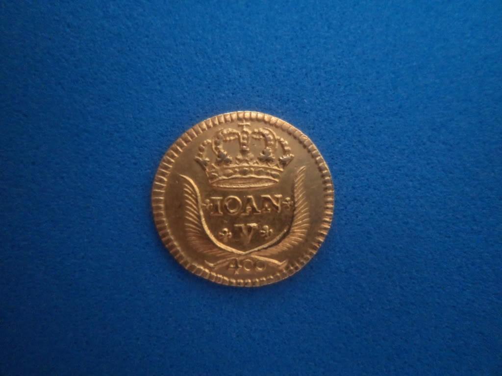 400 Reis. Juan V, Rey de portugal. 1730 DSC01485