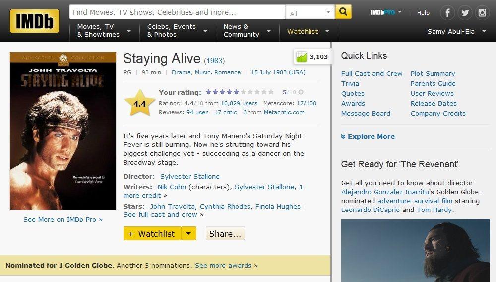 Staying Alive 1983 720p WEB-DL DD5 1 H264-FGT IMDB-Staying.Alive