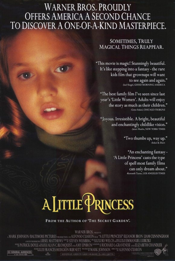 A Little Princess (1995) by Mexican director Alfonso Cuarón Little.Princess