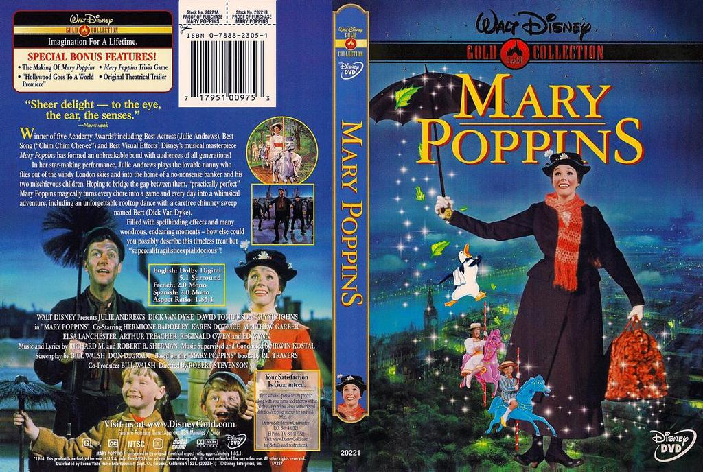 Mary Poppins (1964) Julie Andrews - HD Bluray Rip 1080p anoXmous Mary.Poppins-Cover