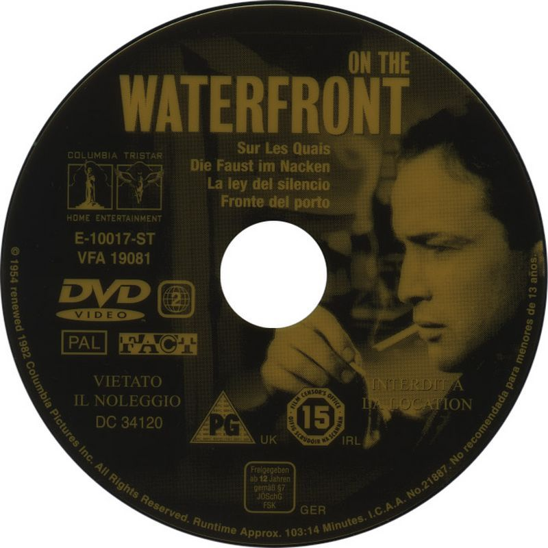 On The Waterfront (1954) Criterion release OnTheWaterfront-DVDinlay