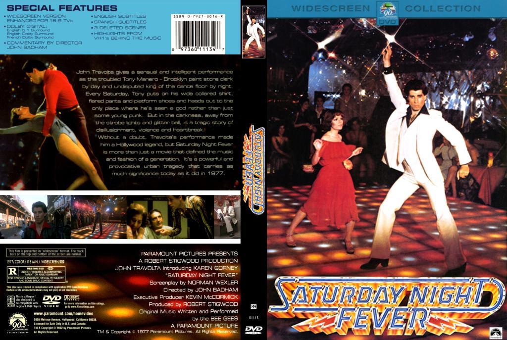 Saturday Night Fever (1977) John Travolta Saturday.Night.Fever-DVDcover