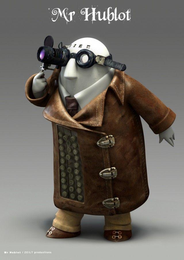 Mr.Hublot (2013) Winner of The Oscars MrHublotToy