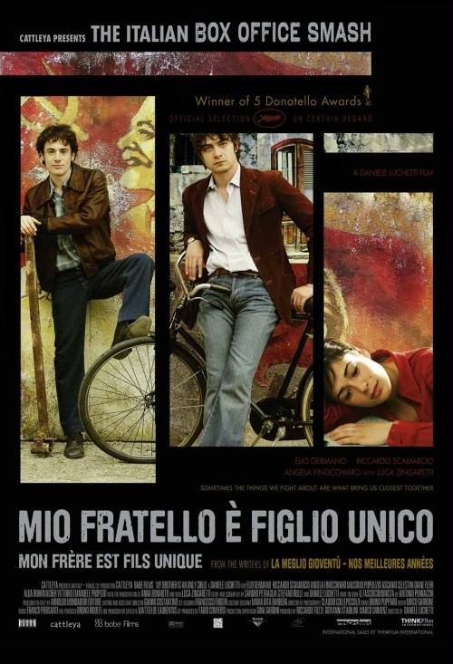 Mio fratello è figlio unico  (2007) My Brother Is an Only Child   7177247.3