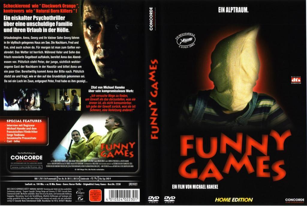 Funny Games (Austria, 1997) Michael Haneke Funny.Games-DVDcover