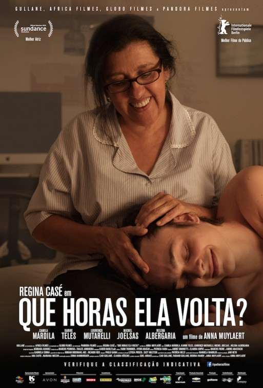 Que Horas Ela Volta? (Brasil, 2015) a.k.a The Second Mother Que_horas_ela_volta