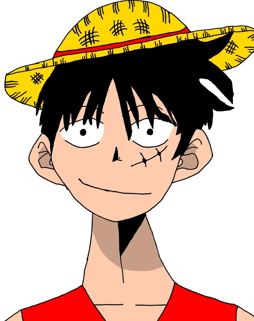 Mis dibujos de One Piece 85bfde66
