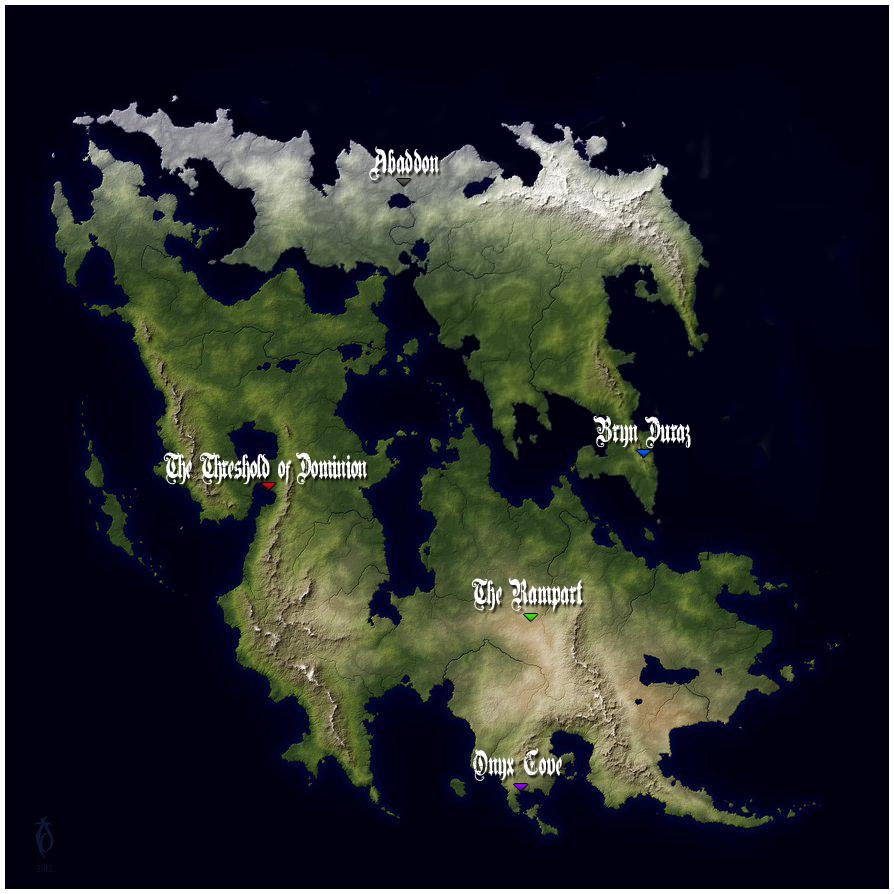 Map of the Isles of the Raveners IslesoftheRavenersMap