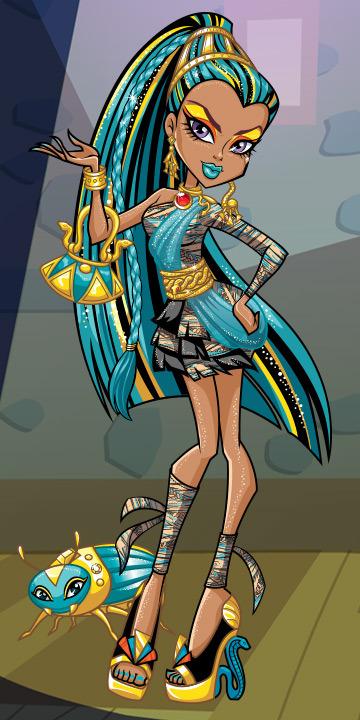 Monster High Ships Hero-Nefera-Character_tcm577-206874