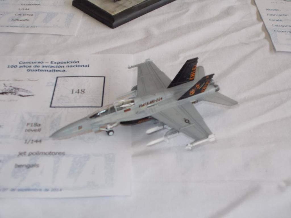 """F /A 18D  MARINES ESCUADRON """"BENGALS""""  REVELL  GERMANY 1/144 DSCN1745_zpsc618d0af"""