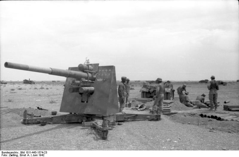 8,8 cm FlaK /36/37 Tamiya  1/35 88-cmFlak18enelNortedeAfricaen1942_zps88419d9f