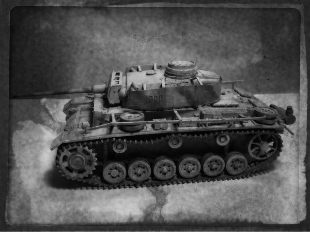 PANZERKAMPFWAGEN III Ausf. M (Sd.Kfz.141) Dragon DSC07382