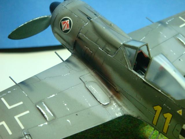 Focke-Wulf Fw 190A-8  .eduard Weekend Edition a 1/48.. ( TERMINADO  ) DSC08106