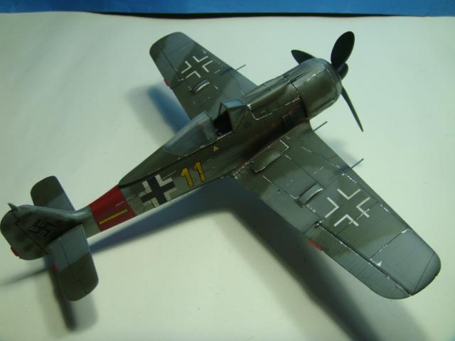 Focke-Wulf Fw 190A-8  .eduard Weekend Edition a 1/48.. ( TERMINADO  ) DSC08131
