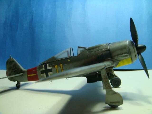 Focke-Wulf Fw 190A-8  .eduard Weekend Edition a 1/48.. ( TERMINADO  ) DSC08134