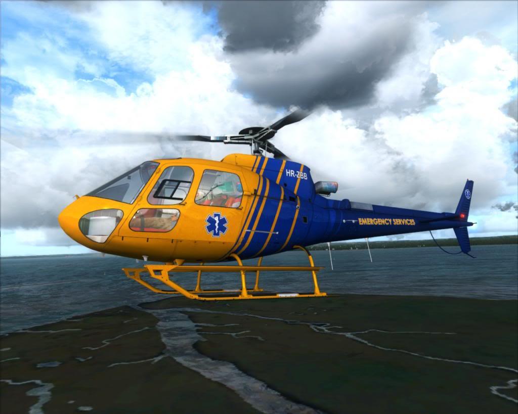 Novo brinquedo - AS350 17a