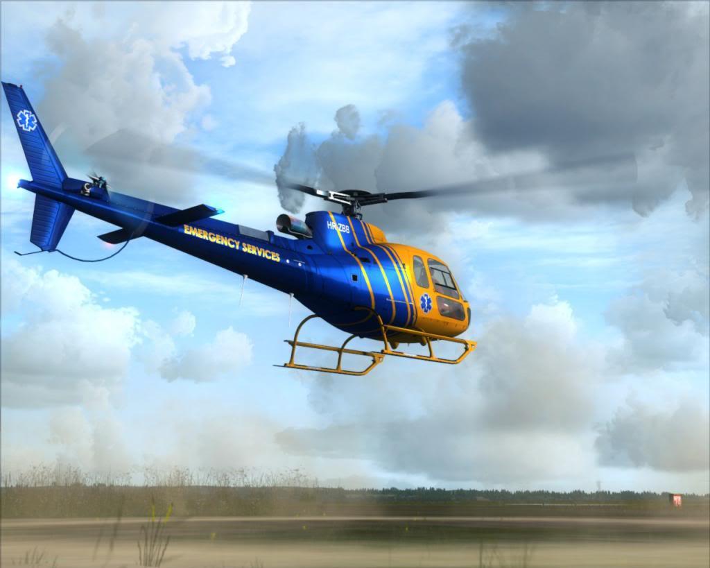 Novo brinquedo - AS350 2a