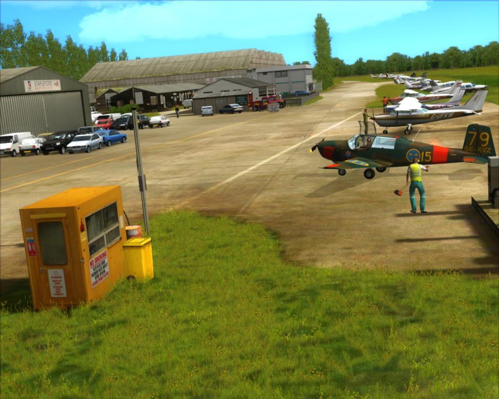Stapleford Airfield 3-28