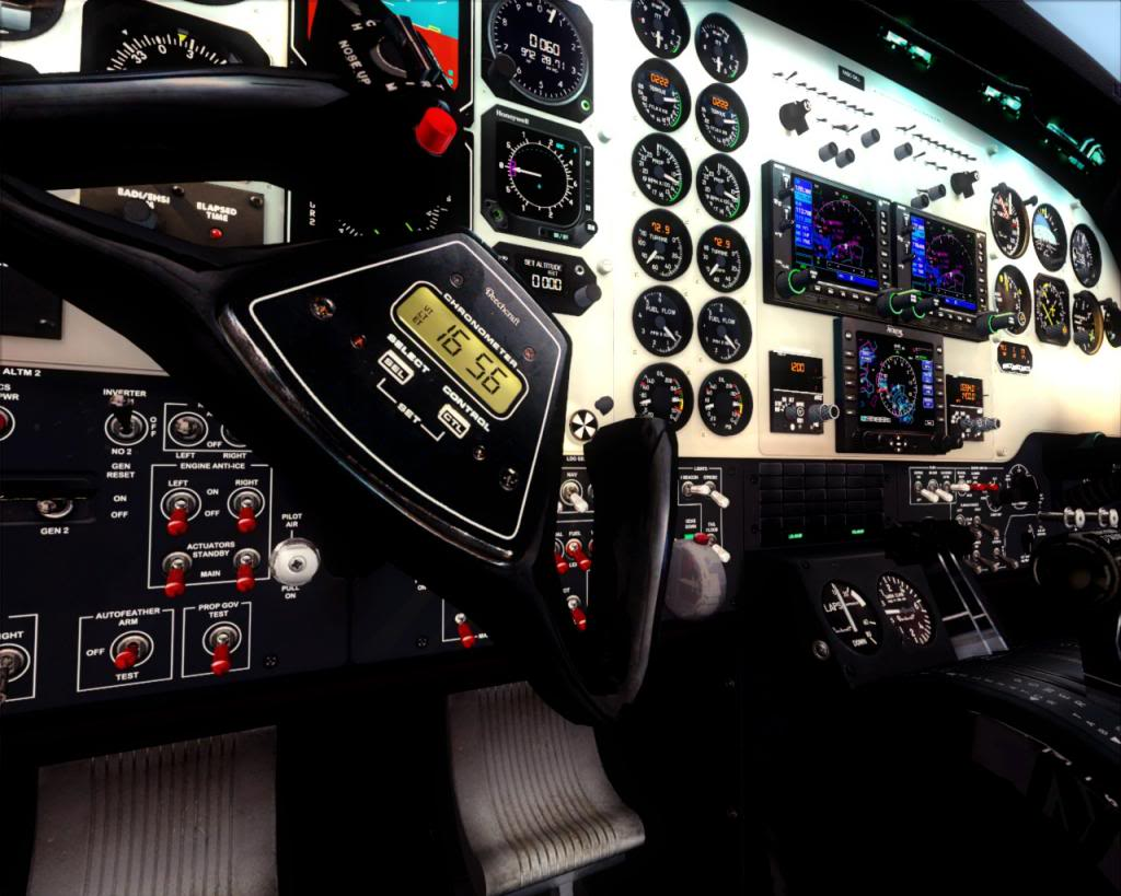 Carenado B200 King Air (Review de Rodrigo Sotto-Maior) 3-4