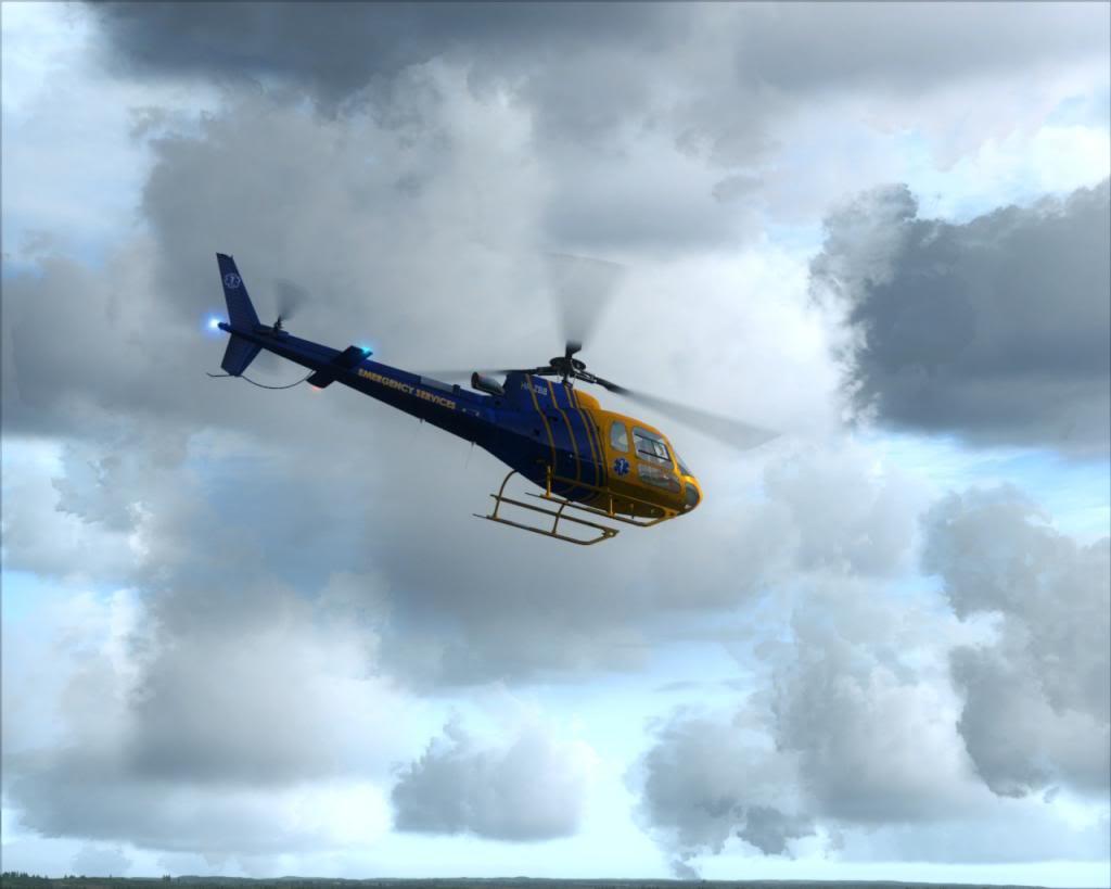 Novo brinquedo - AS350 5a