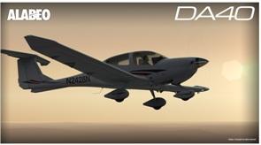 Alabeo DA40 lançado 77