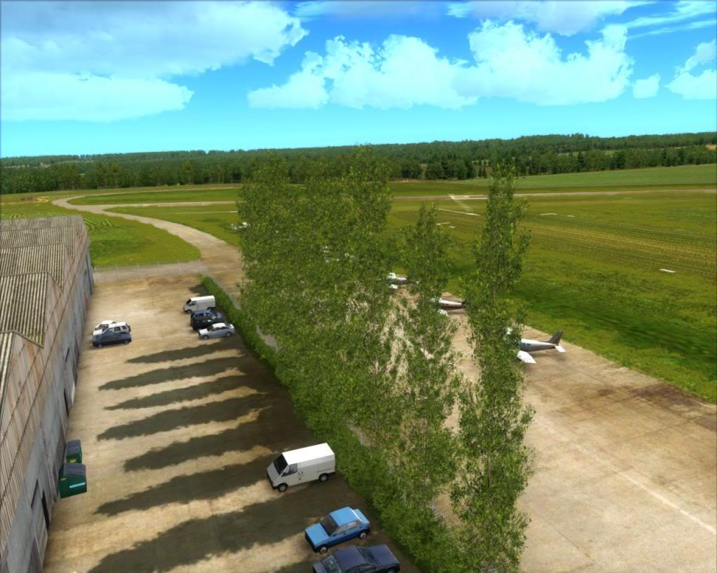 Stapleford Airfield 8-25