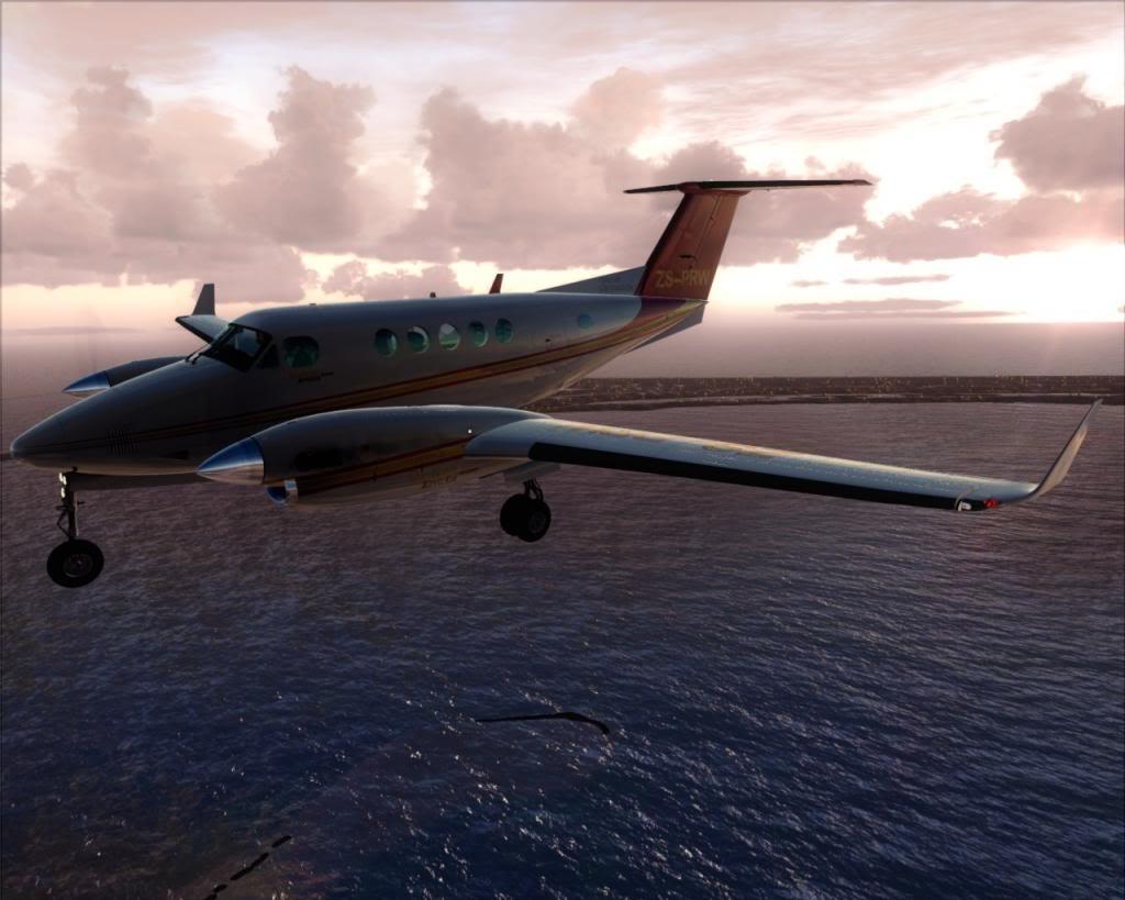 Dusk flight 8-4