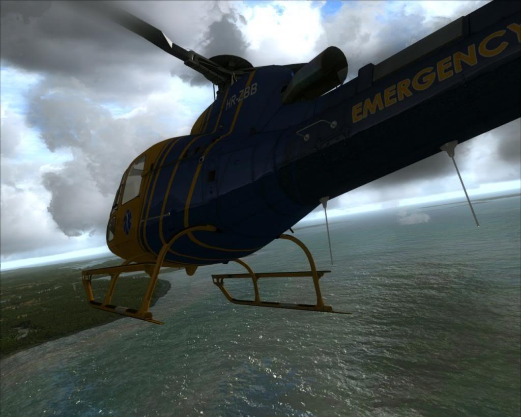 Novo brinquedo - AS350 9a
