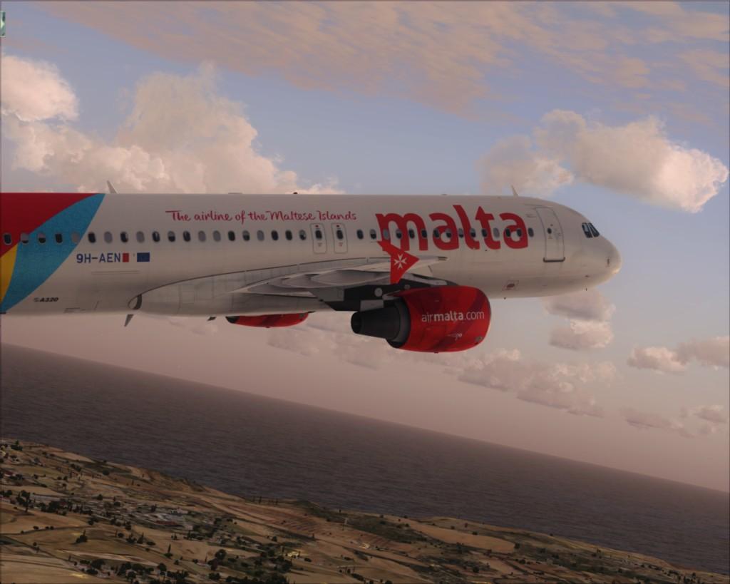 Voando pela Europa Malta