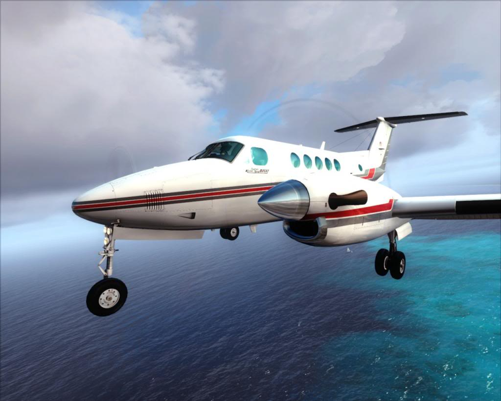 Carenado B200 King Air (Review de Rodrigo Sotto-Maior) A