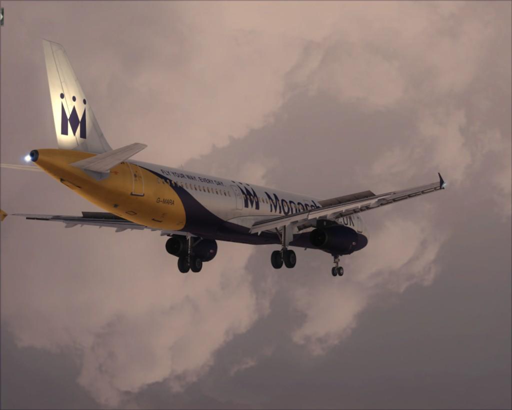 Voando pela Europa A16