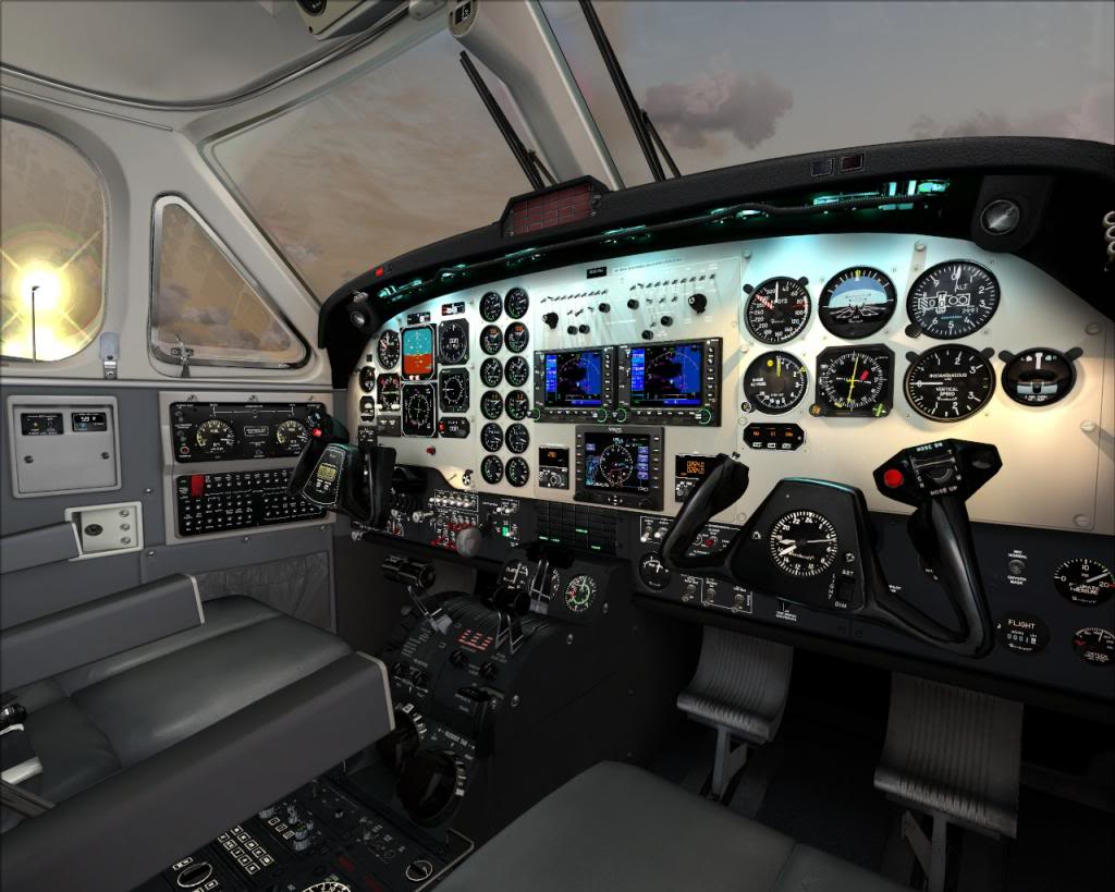Carenado B200 King Air (Review de Rodrigo Sotto-Maior) B2