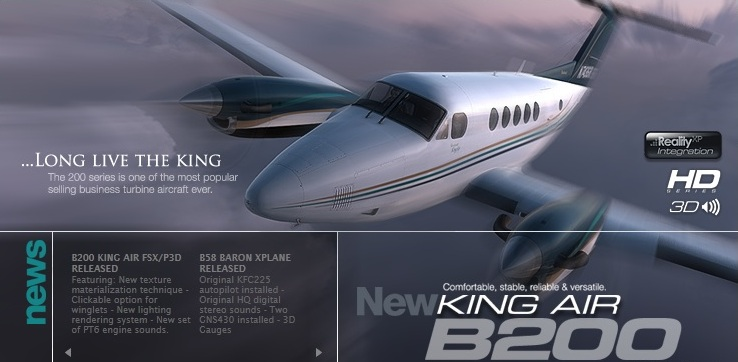 Carenado B200 King Air (Review de Rodrigo Sotto-Maior) B200