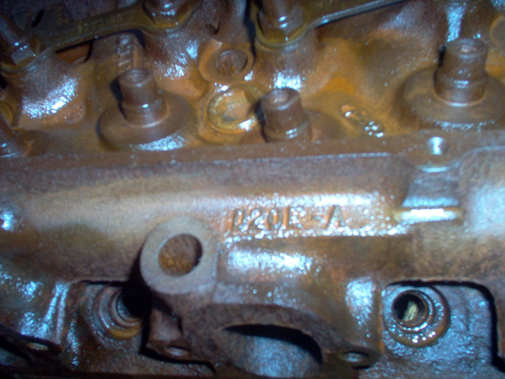 FORD 429 POLICE INTERCEPTOR CYLINDER HEADS