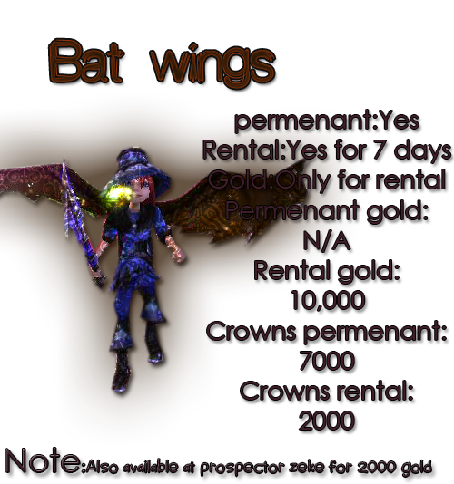 Guide for all mounts Batwing