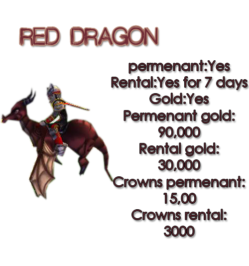 Guide for all mounts REDDRAGON