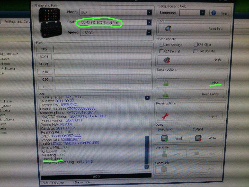 samsung  I857 unlock AT&T done  sa Z3X box Cdf3312e-1eb8-4f89-85b8-3947d85c473f
