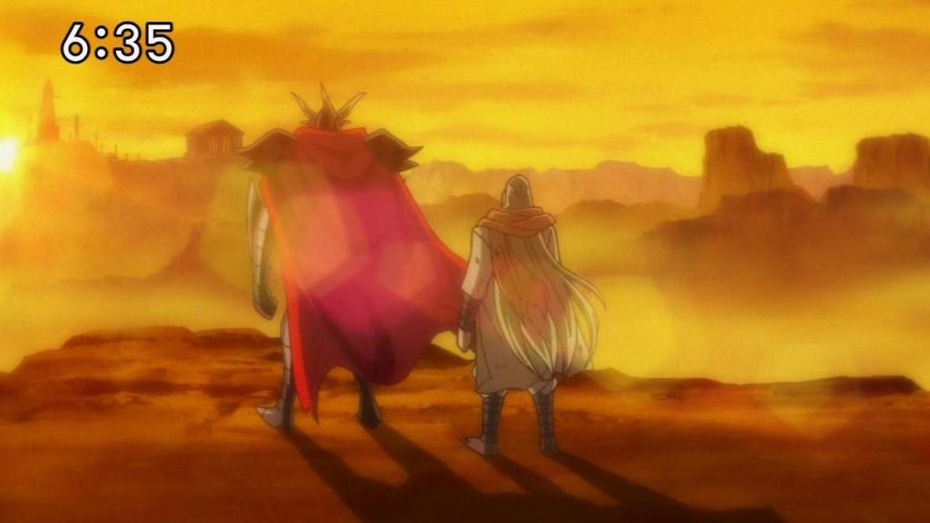 SaintSeiya Ω - Capítulo 36 - ¡Orgullo destrozado! ¡El Puño Real de Micenas! SUBTITULADO 36-7