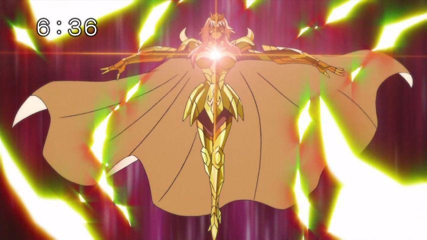 SaintSeiya Ω - Capítulo 40 - ¡La determinación de Sonia! ¡Rompe la cadena del destino! SUBTITULADO 4015
