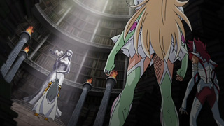 SaintSeiya Ω - Capítulo 42 - ¡El caballero dorado traidor! ¡Ionia vs Koga! 421