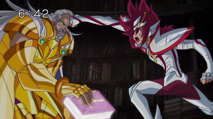 SaintSeiya Ω - Capítulo 42 - ¡El caballero dorado traidor! ¡Ionia vs Koga! 4213