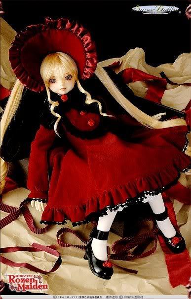 Rozen Maiden Oficial dollfies Volks Shinku_05